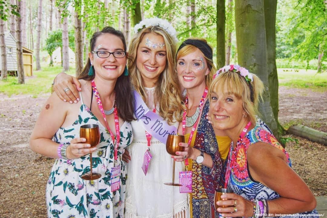 henfest festival hen party lanyards