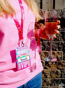 henfest festival hen party vip pass lanyards