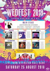 wedfest theme wedding stationery