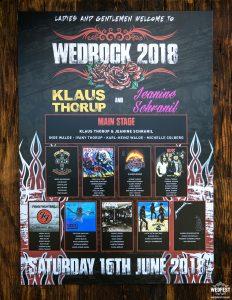 wedrock rock and roll wedding seating plan