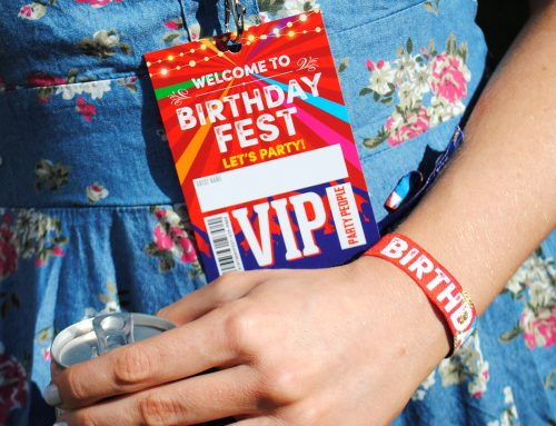 BIRTHDAYFEST Festival Birthday Party VIP Pass Lanyards