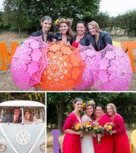 dave aimee festival wedding umbrellas