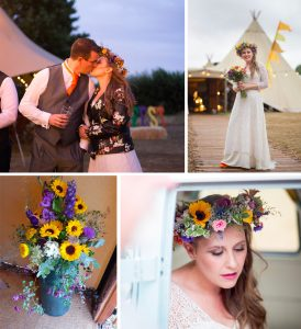 festival wedding photographs
