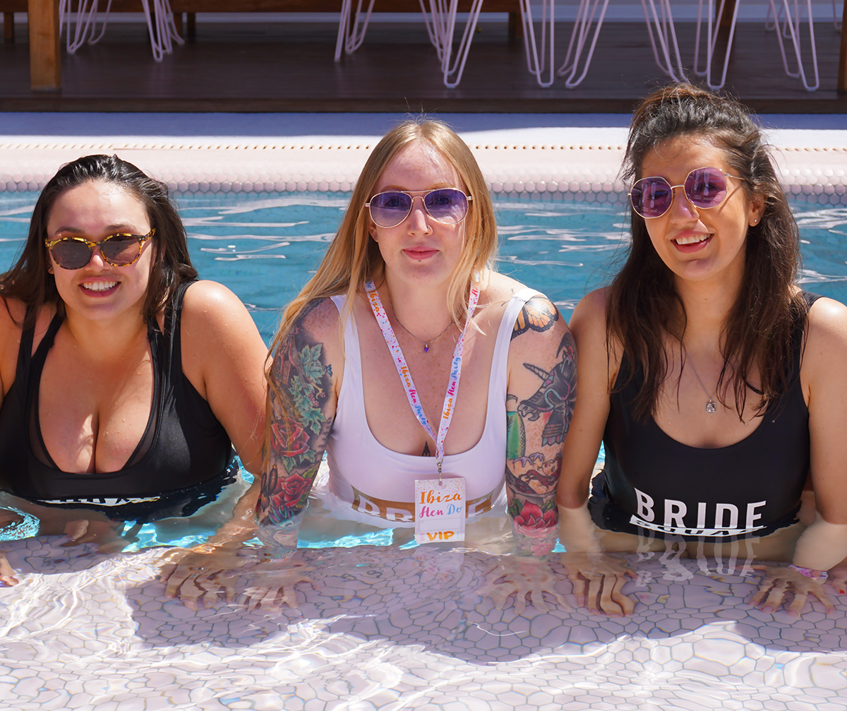 ibiza hen do paradiso art hotel