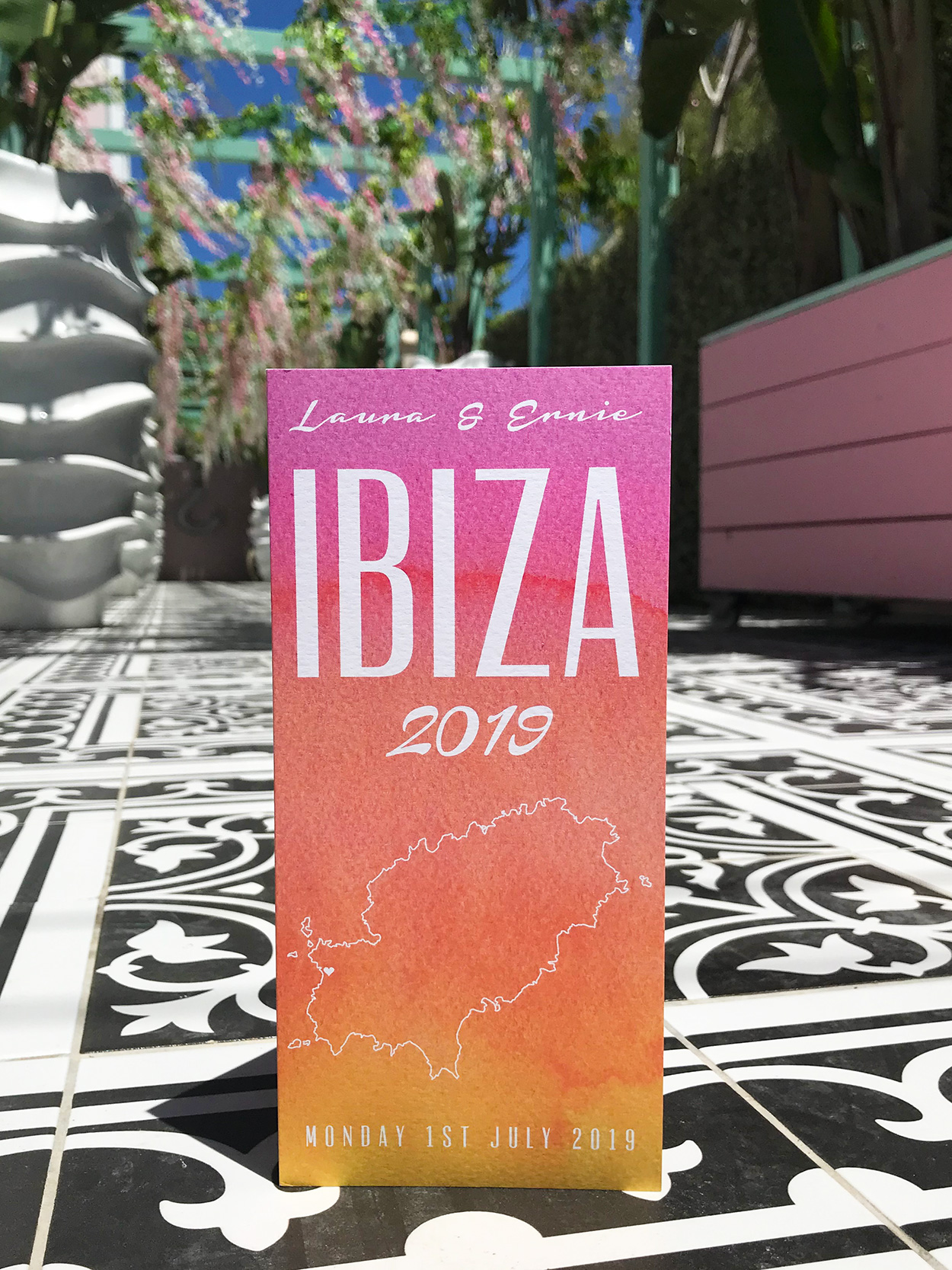 ibiza wedding invitations wiki woo hotel