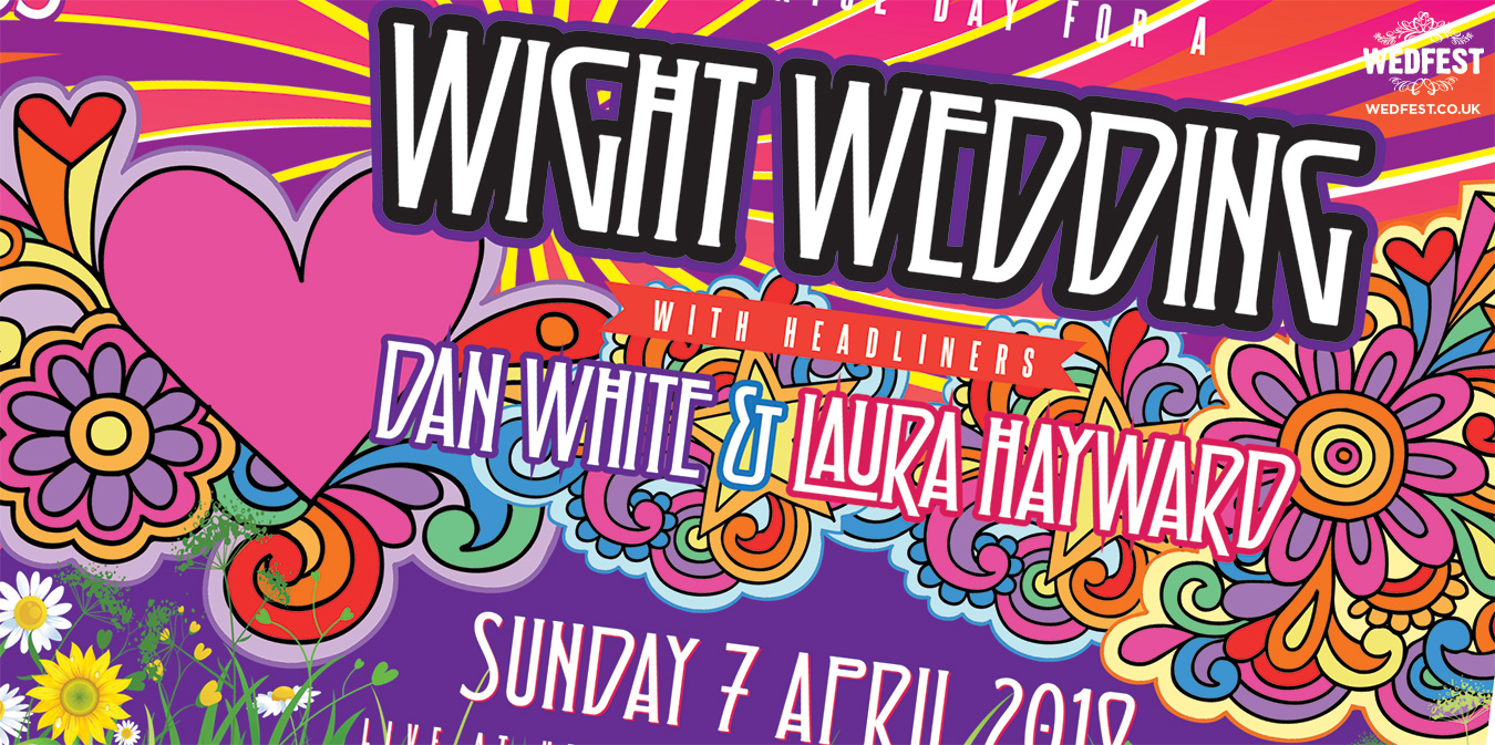 white wedding festival wedfest invitations