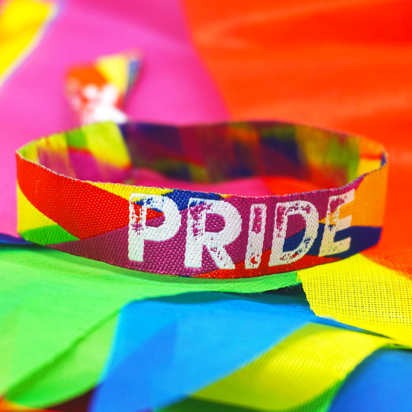 gay pride parade wristband accessories