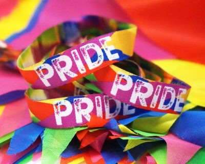 gay pride wristbands accessories