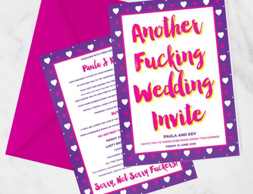 Another Fucking Wedding Invite