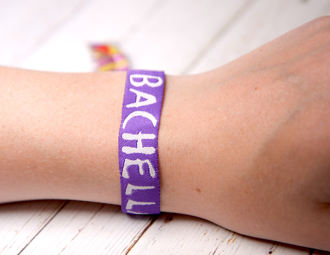 bachella boho-bachelorette party wristbands