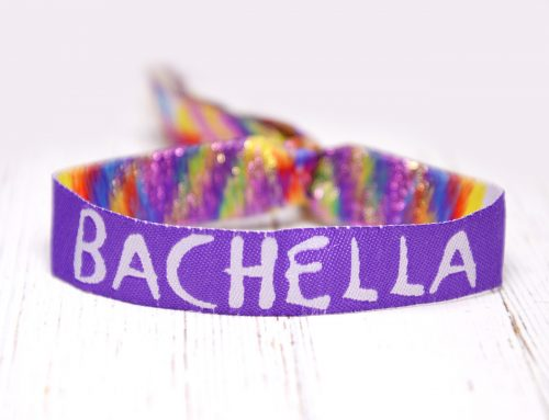 Bachella Festival Themed Bachelorette Party Wristbands