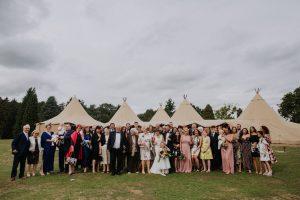 festival teepee tipi wedding