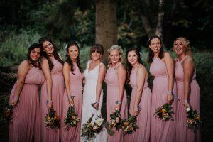 festival wedding bridesmaids custom wristbands