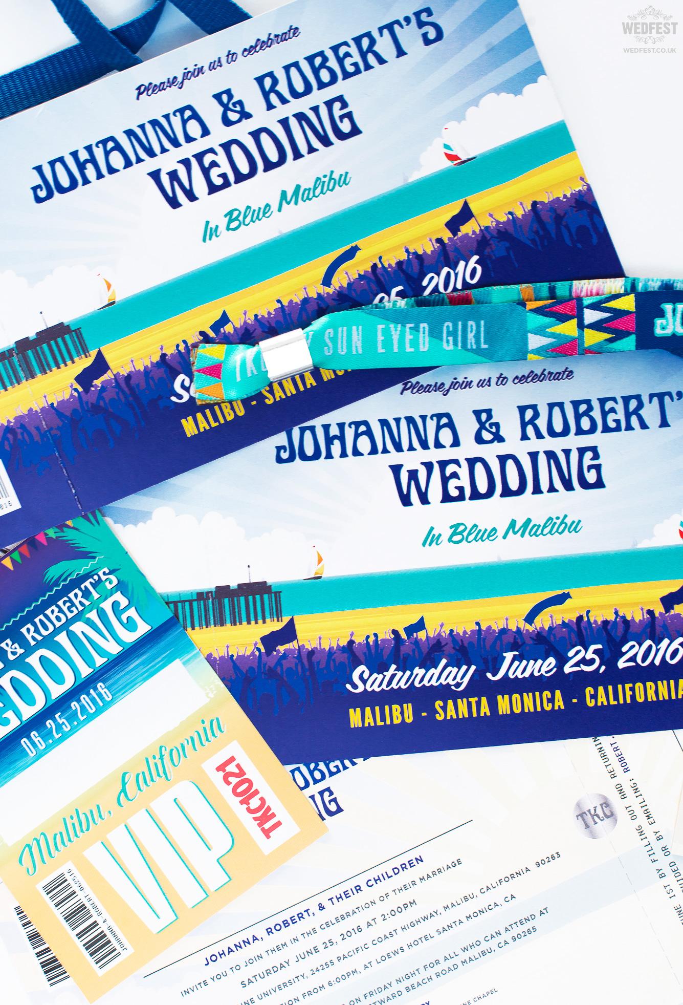 festival wedding malibu california wedfest