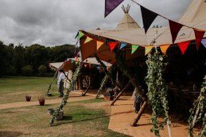 festival wedding teepee tipi