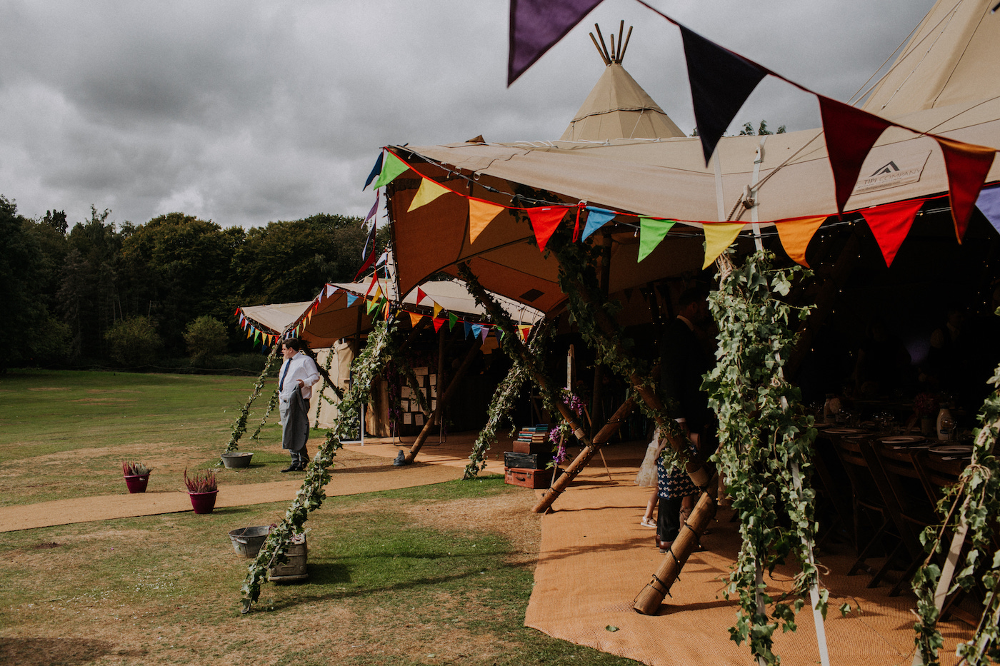 festival wedding teepee tipi