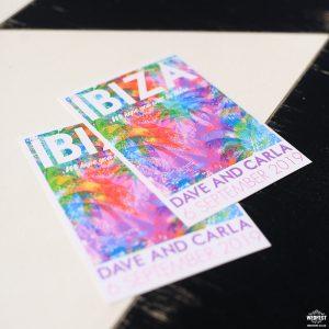 ibiza Eivissa wedding bride invitations