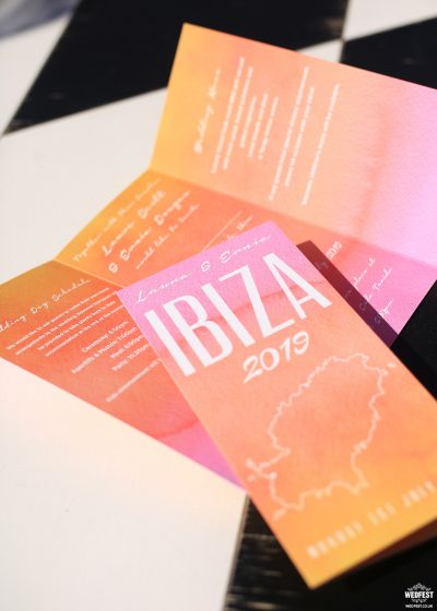 ibiza wedding invites wedfest