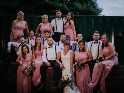 kellyfest festival wedding bridal party
