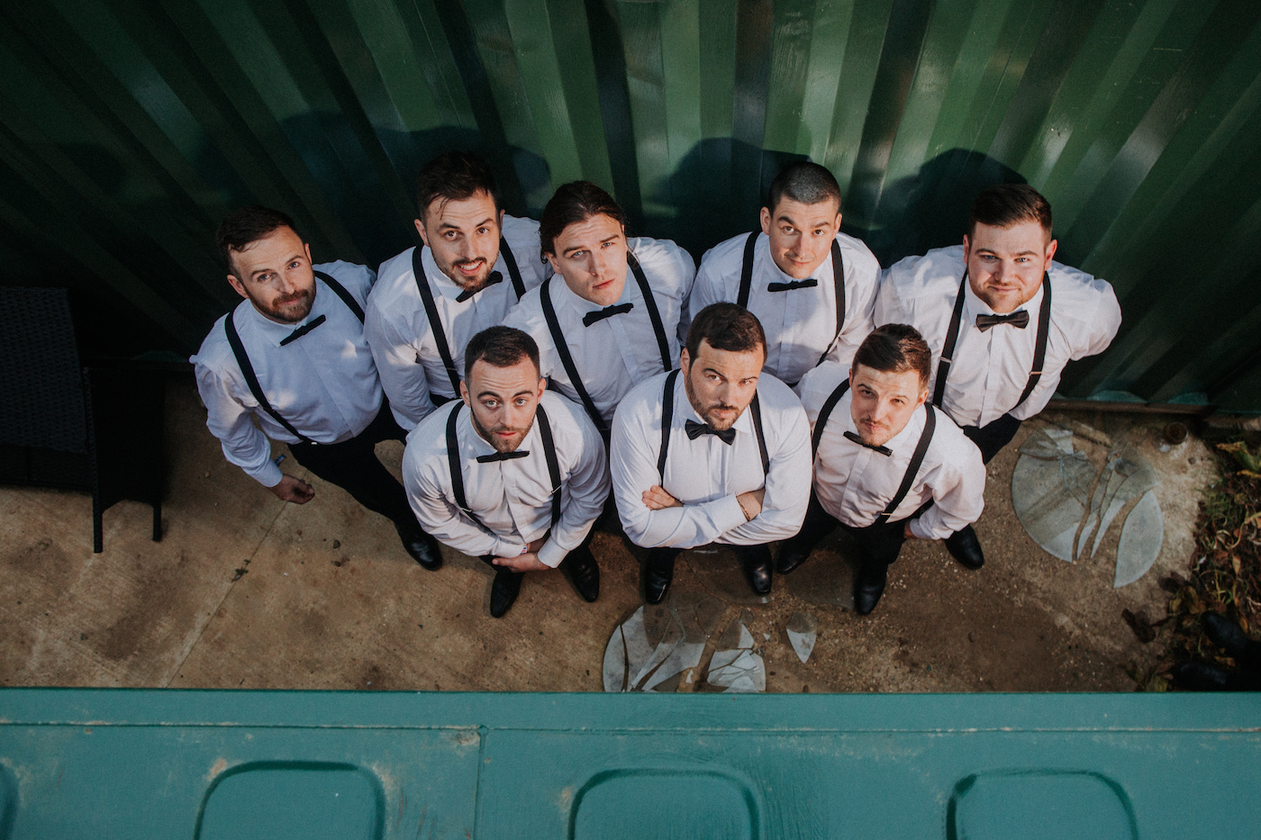 kellyfest festival wedding groom groomsmen