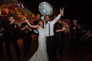 new york brass band festival wedding