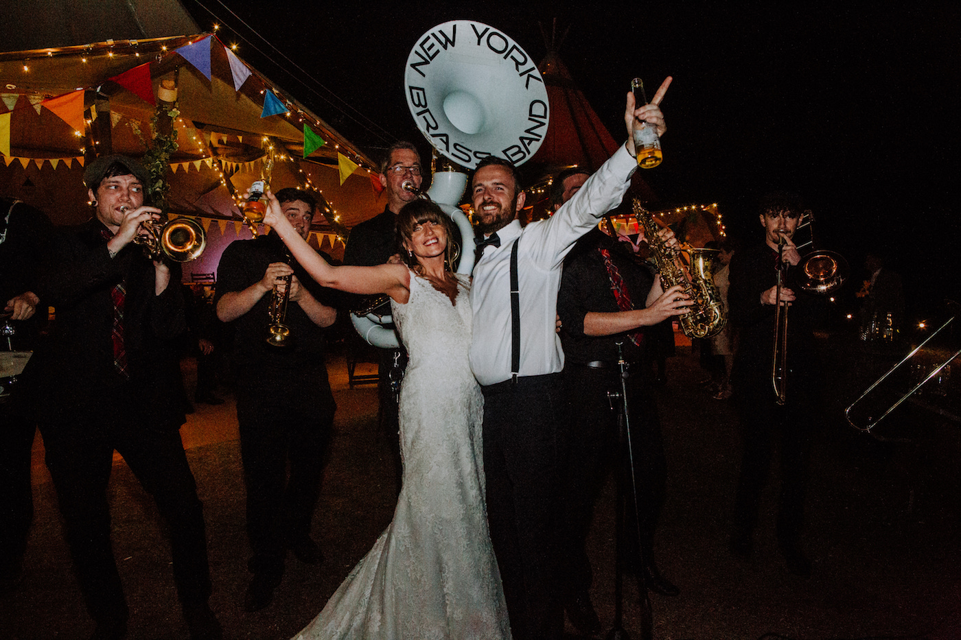 new york brass band festival wedding