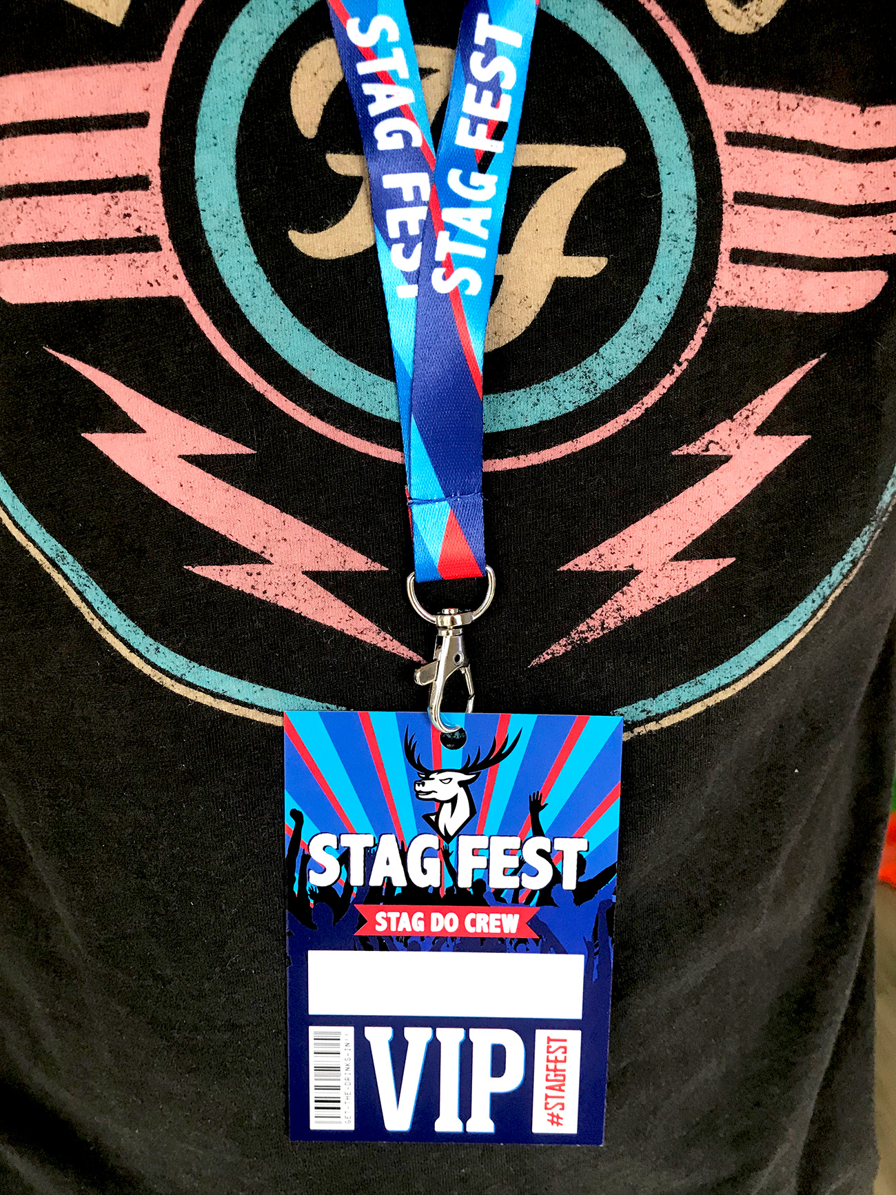 stag fest festival stag do party vip lanyards