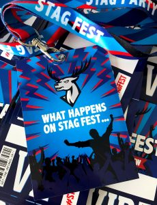 stag fest festival stag do party vip pass lanyards