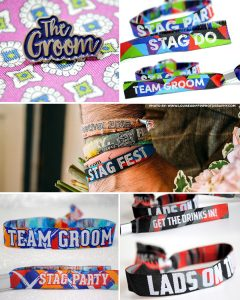stag do party wristbands favours accessories