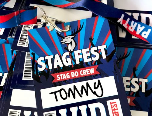 STAGFEST Stag Party VIP Pass Lanyards