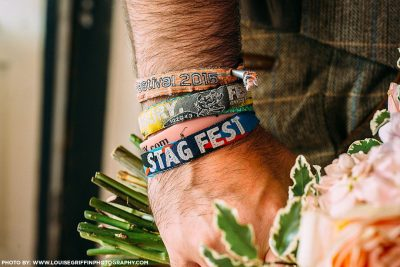 stagfest stag do party wristbands