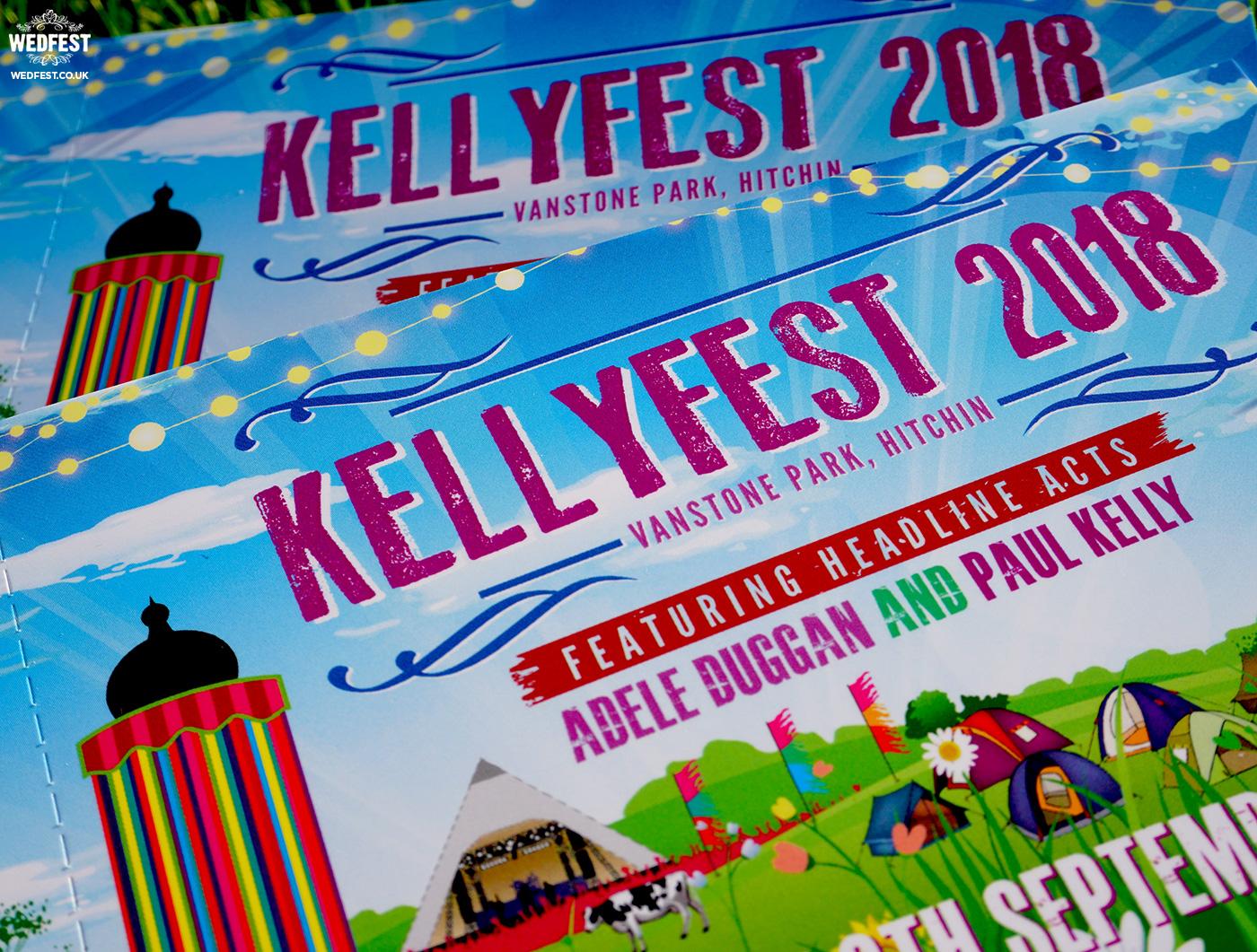 wedfest festival wedding invites
