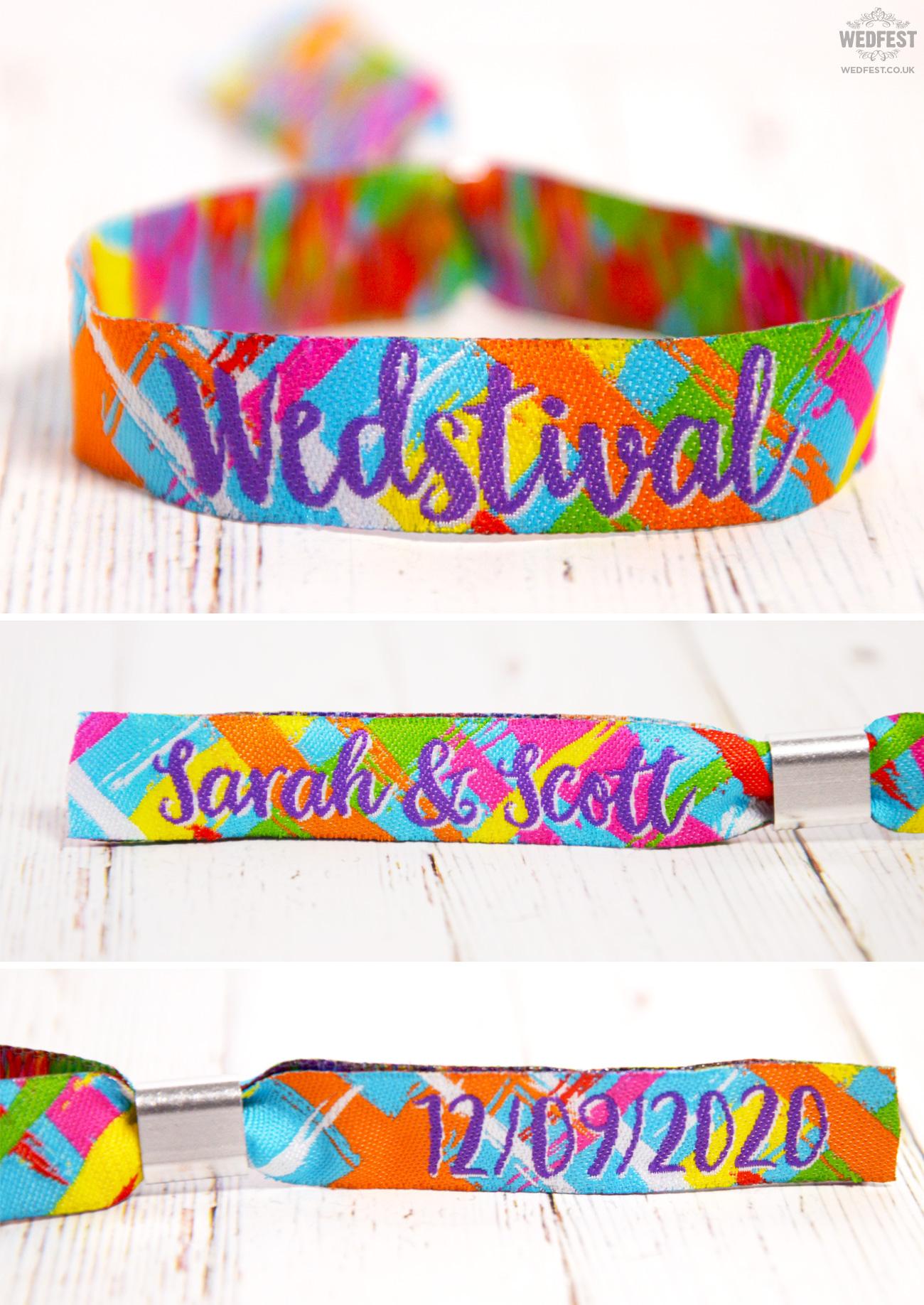 wedstival festival wedding-wristbands armbands bracelets