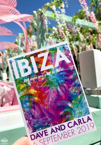 wiki woo hotel ibiza wedding invitations