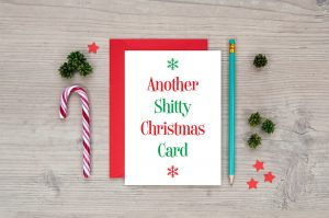 another shitty christmas card funny rude