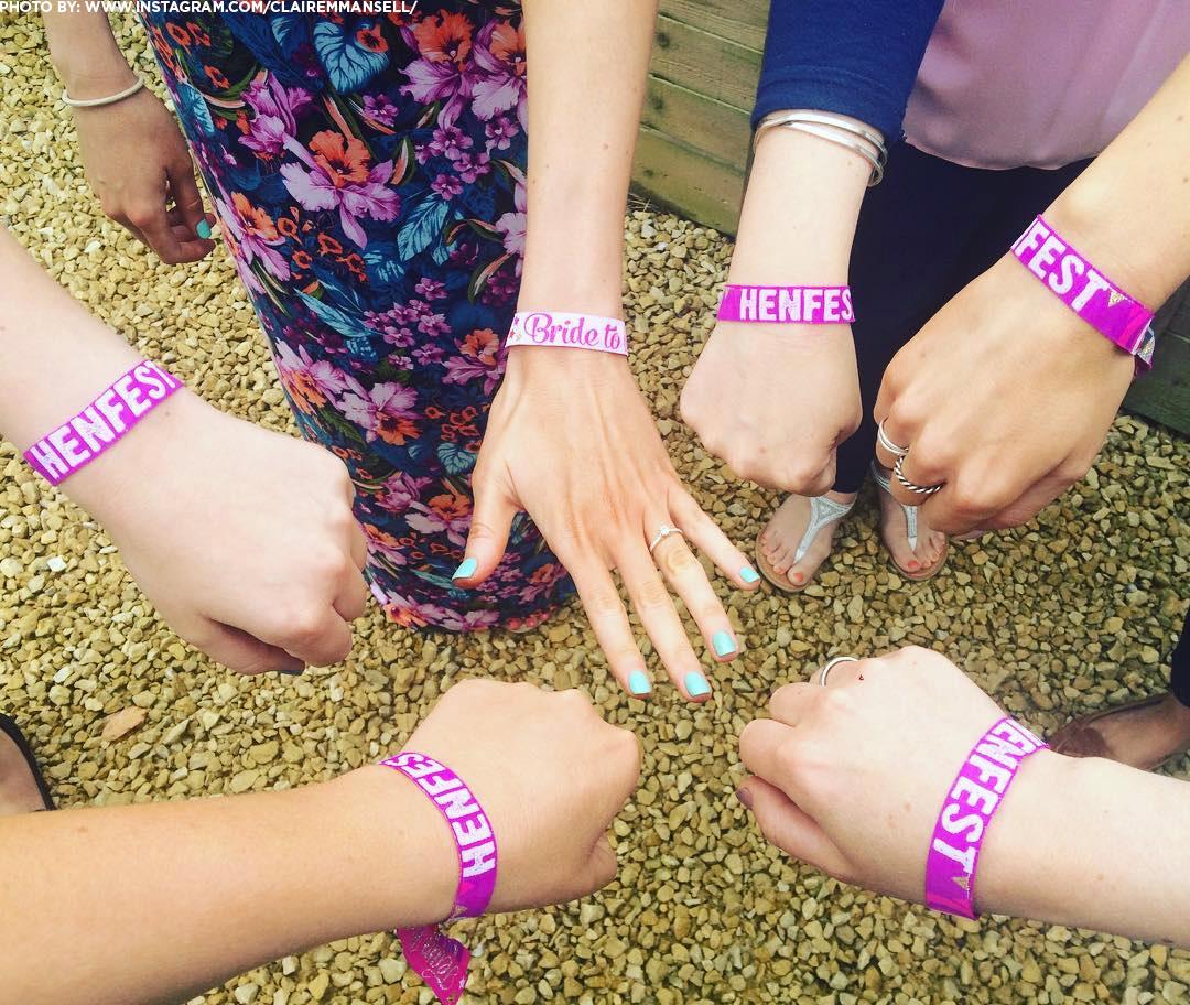 henfest festival wristbands
