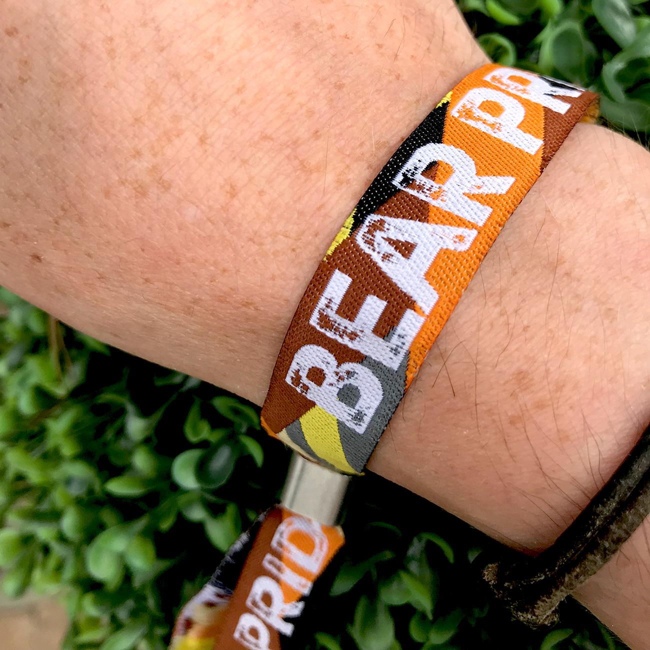bear pride same sex wristbands lgbt pride