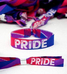 bisexual pride parades wristbands