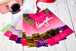 branded business promotional event lanyards