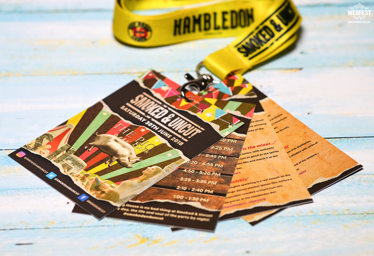 Corporate Branded Promotional Event Lanyards | WEDFEST