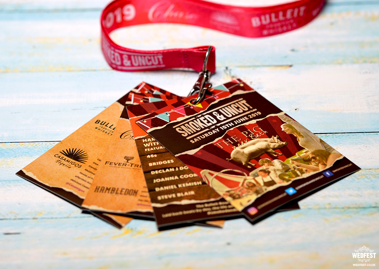 branded music festival business promotional event lanyards