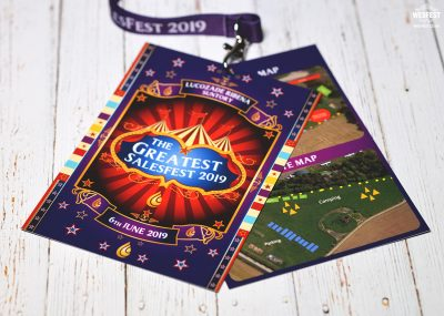 branded festival corporate promotional event lanyards
