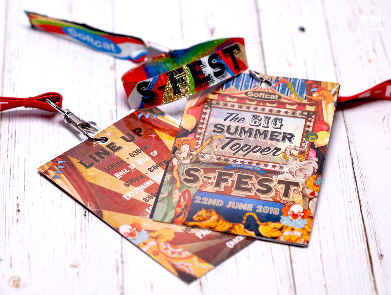 branded festival corporate promotional event lanyards wristbands