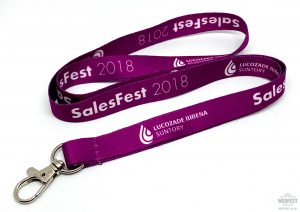 corporate business promotional lanyards