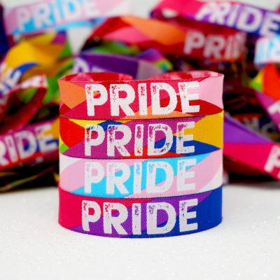 gay pride parade wristbands