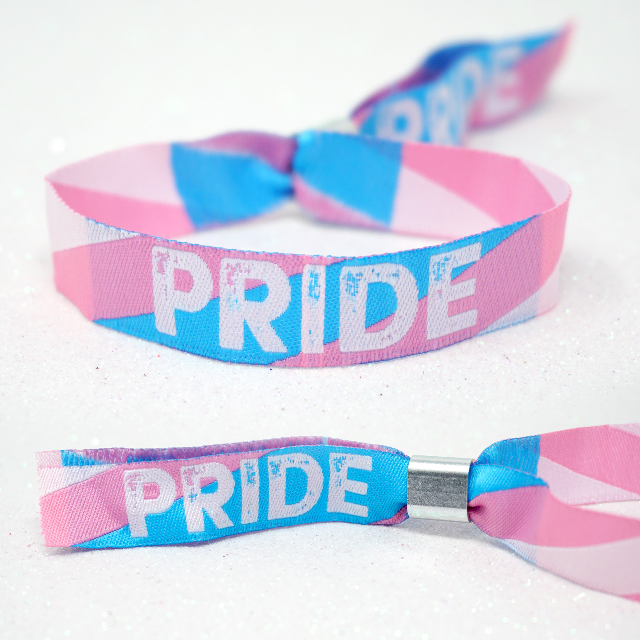 transgender pride parade wristbands