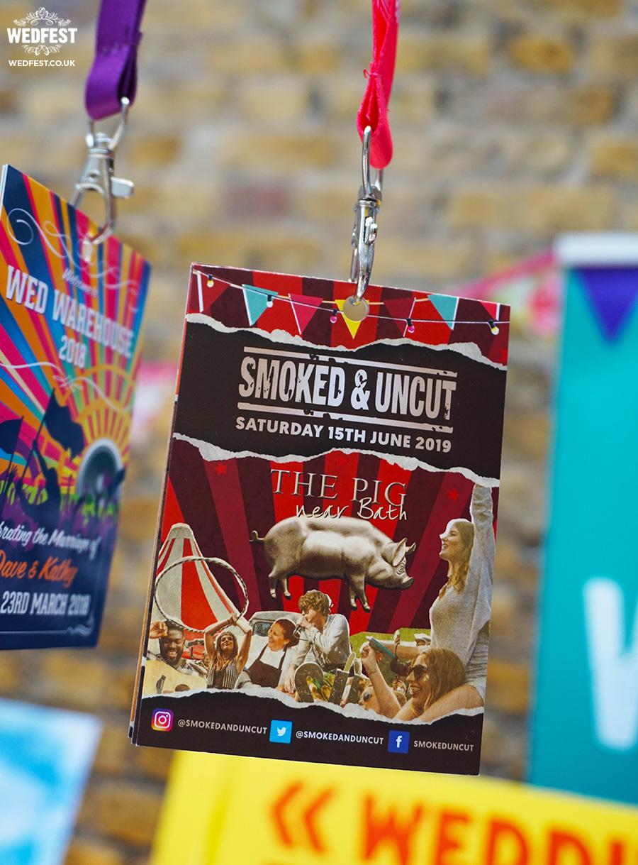 festival lanyard programmes