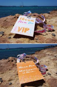 ibiza hen party vip pass lanyards accessories