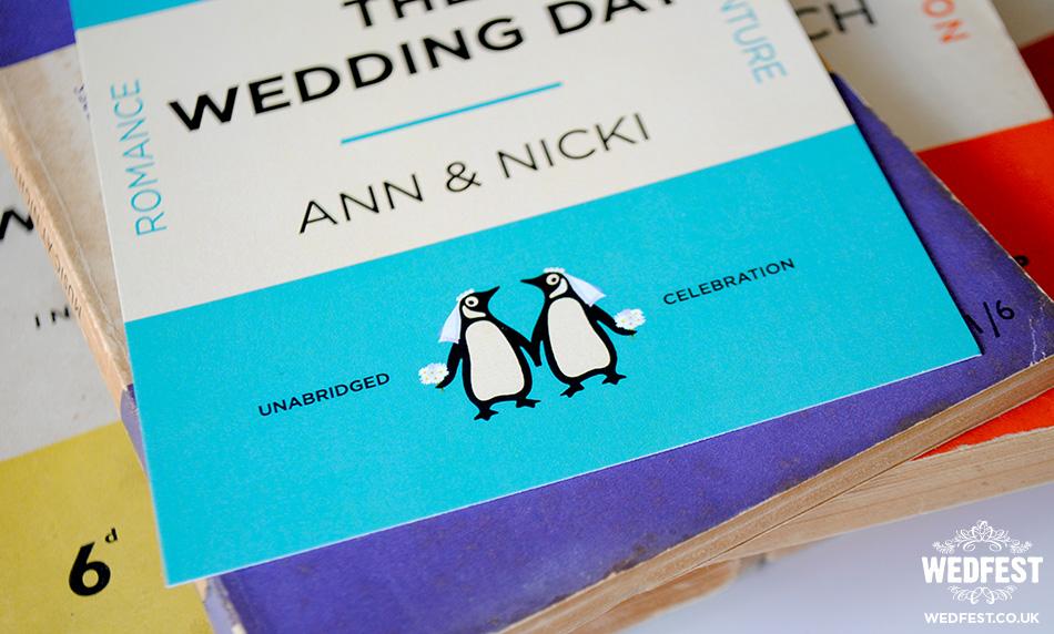 lgbtq same sex wedding invitations
