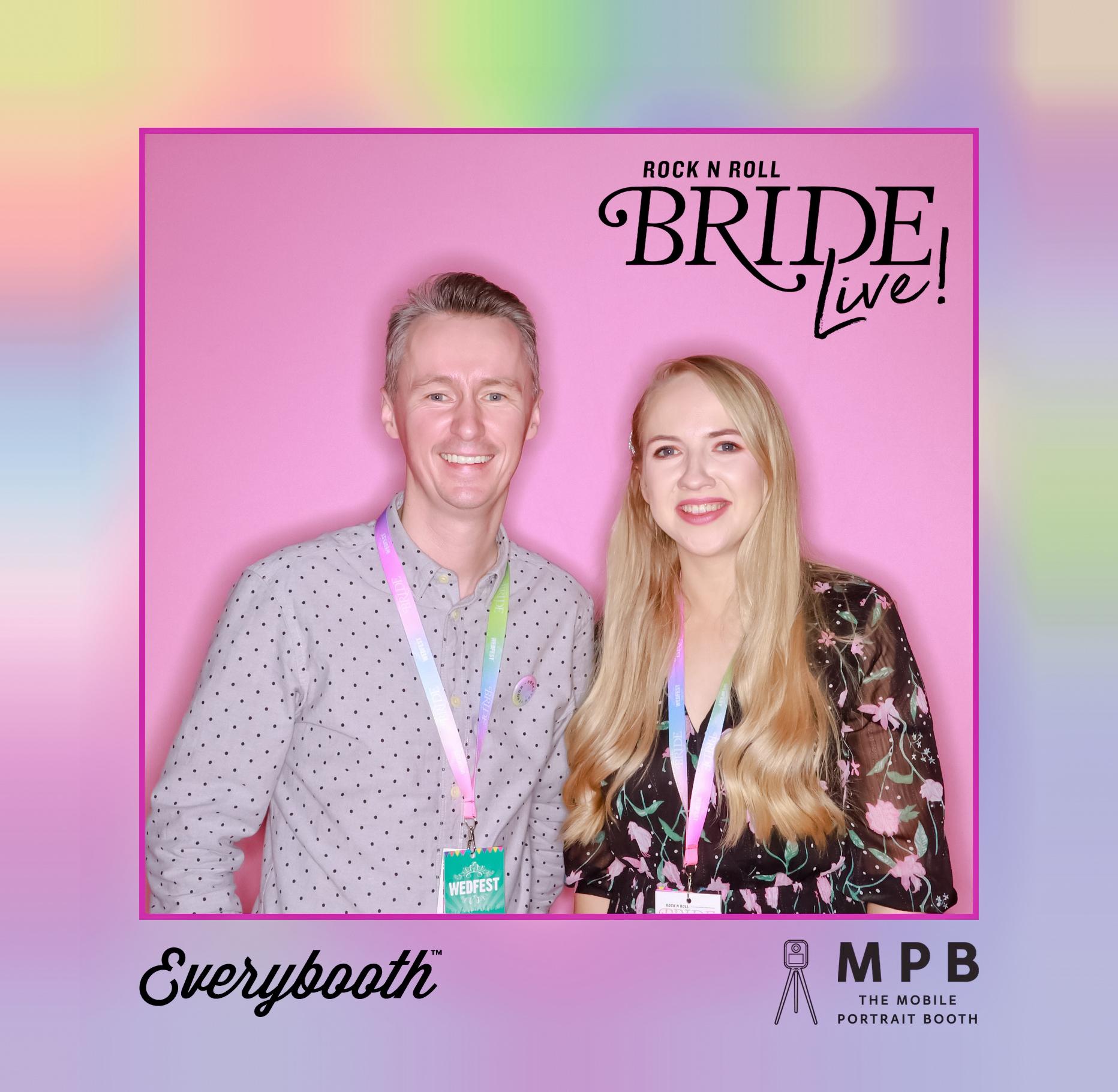 marty & christine wedfest rock n roll bride live